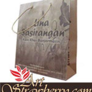 Taskertas Lina Sasirangan (19x8x22)cm