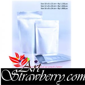 Stand Up Pouch With Zipper